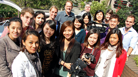 ABC News on Campus Team 2010-11