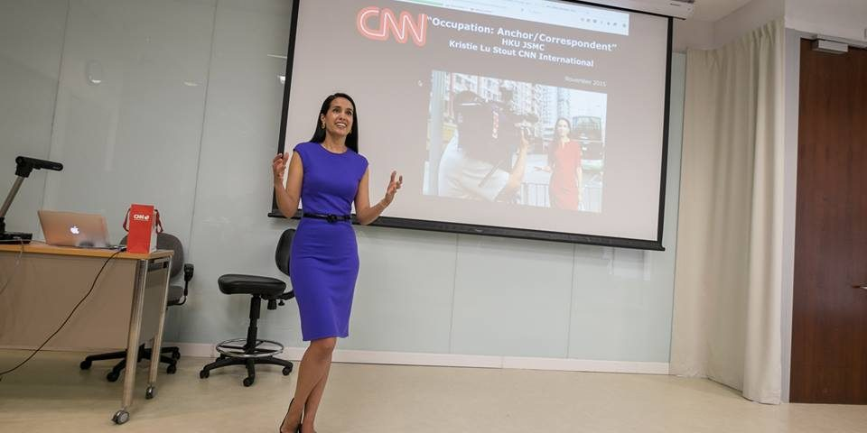 Be entrepreneur journalists': CNN anchor Kristie Lu Stout